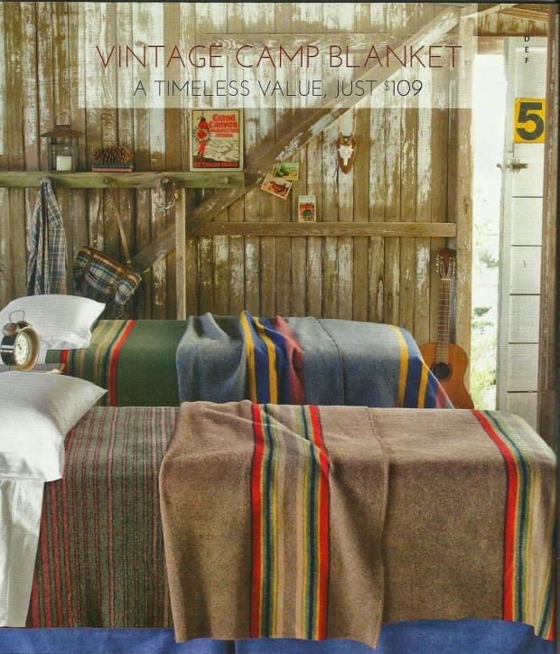 Pendleton Patterned Campnig Blankets