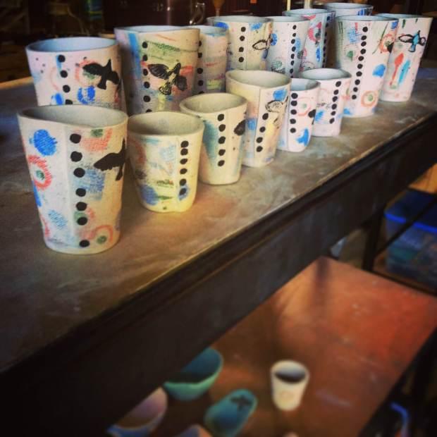 Amanda Blair Dexheimer's Handmade Printed Tumblers