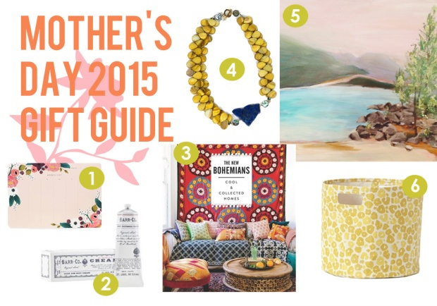Mother's Day Guft Guide 2015