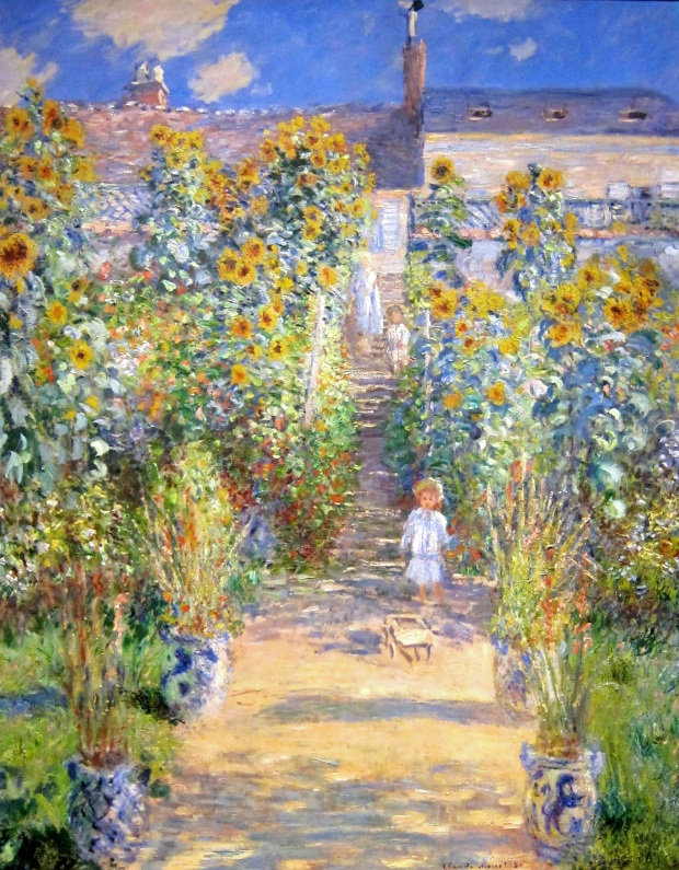 "Monet's ""The Artist's Garden at Vetheuil,"" 1880"