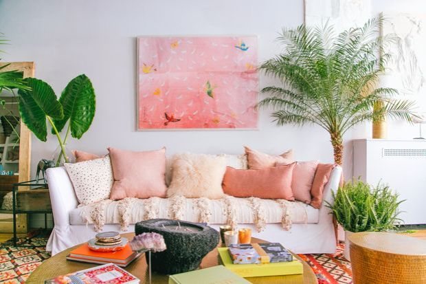 justina blakeney pink personify shop style inpiration