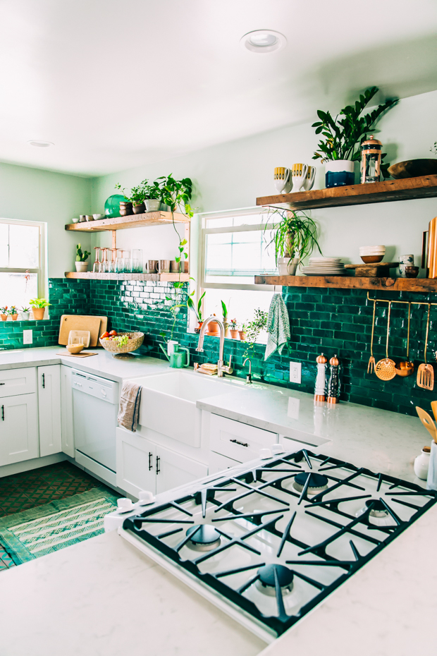 Justina Blakeney Junaglow kitchen redo personify shop style inspo