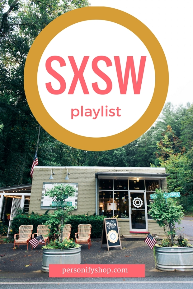 SXSW Personify Shop Playlist