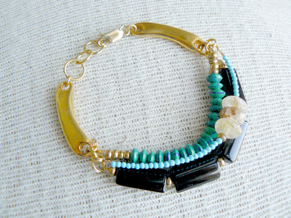 Wanderlust layering bracelet from Etymology Jewelry at Personify Shop