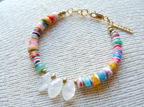 Herkimer Diamond Bracelet at Personify Shop