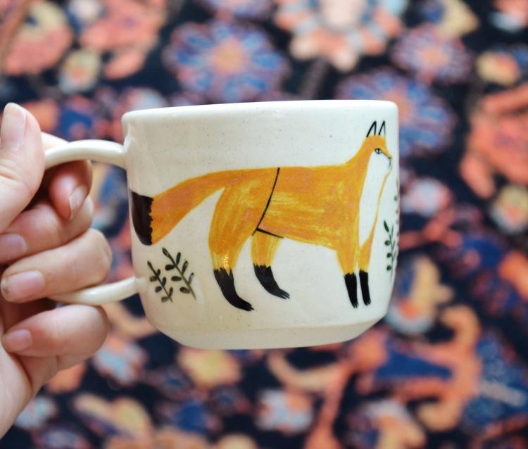 Keep Company Ceramics Fox Mug at Personify Shop