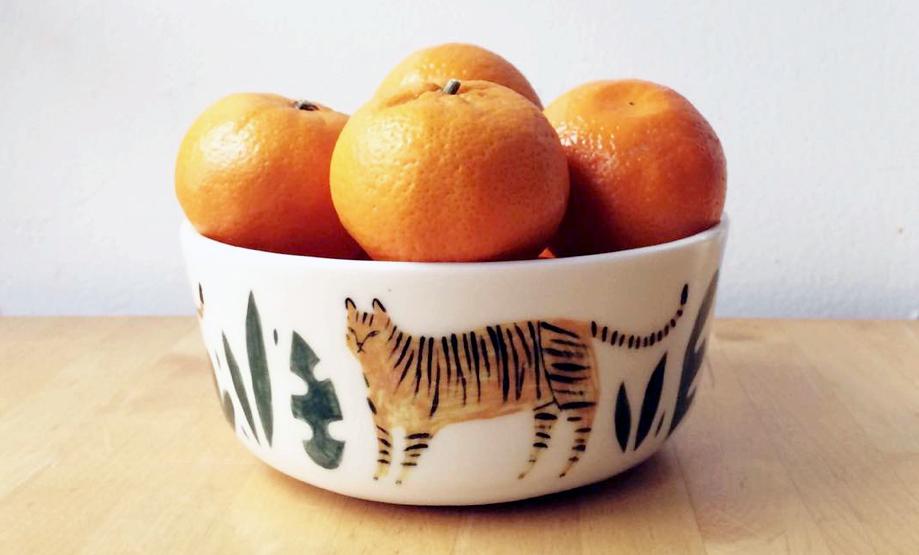 keep company ceramics oranges