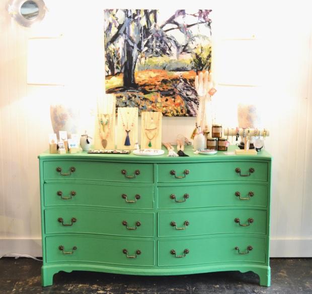 personify shop green dresser