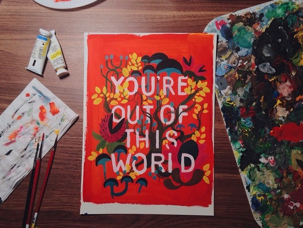 quill-and-fox-youre-out-of-this-world-painting